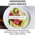 Mediterranea lunch